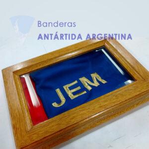 Banderola y cofre Fuerza Aerea Argentina