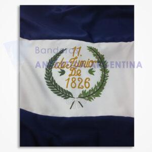 Bandera de Ceremonia de La Bandera de los Pozos. Calidad Premium.