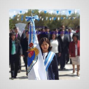 Bandera De Ceremonia de La Bandera De Nuestra Libertad Civil. Calidad Premium.