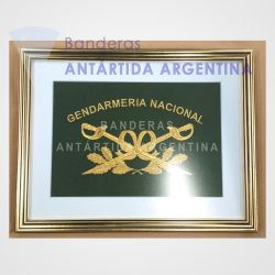 Cuadro bordado Gendarmeria Nacional Argentina